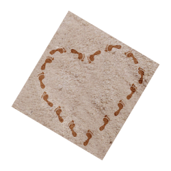 heart-shape-footprints-sand-made-32019166 3